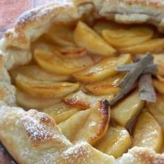 Foto recept: Appeltaart met bladerdeeg