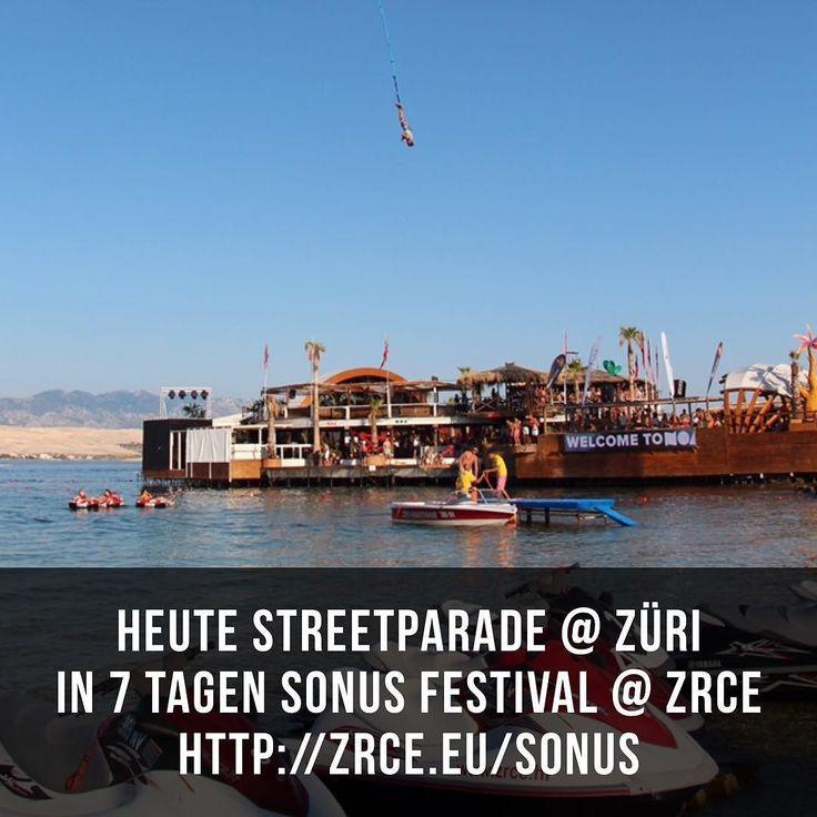 Heute streetparade @ züriIn 7 tagen sonus festival @ zrcehttp://zrce.eu/sonus #zrce #croatia #beach #techno #festival #streetparade #zürich #streetparade2016 #züri #zürisee #streetparadezüri #streetparadezürich #edm #deephouse #minimal