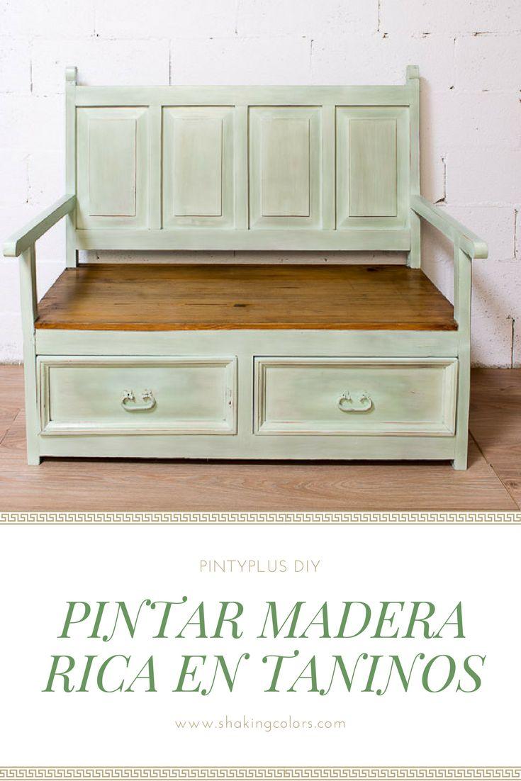 Las 25 mejores ideas sobre muebles con pintura en aerosol - Pintar muebles chalk paint ...