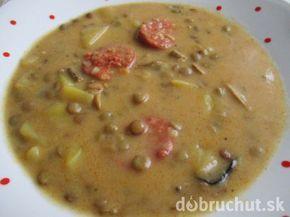 Silvestrovská šošovicová polievka