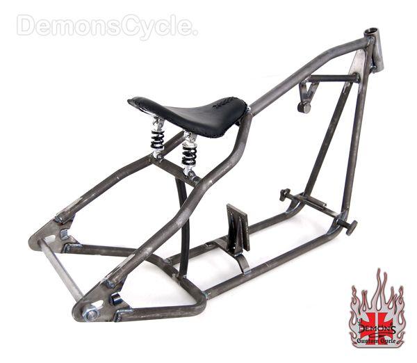 sportster 250 rigid bobber frame