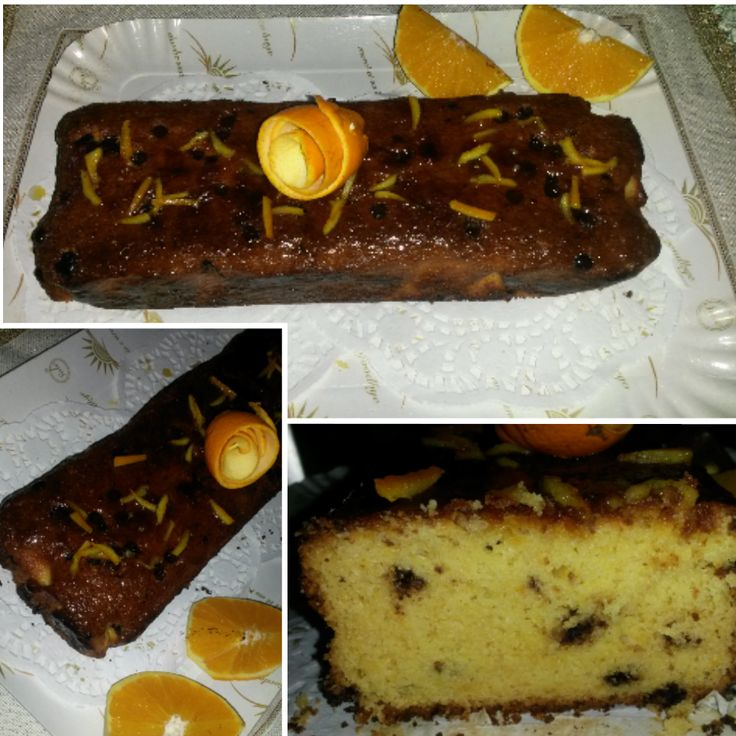 Pan d'arancio - sicilian cake