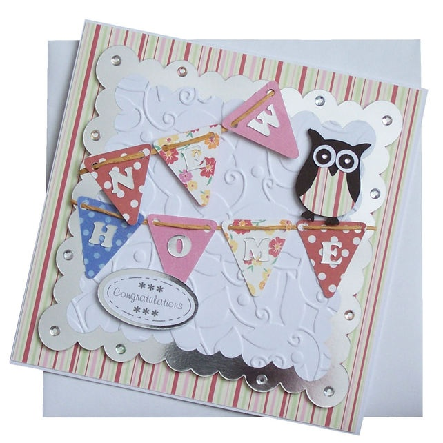 Handmade New Home Card £1.80