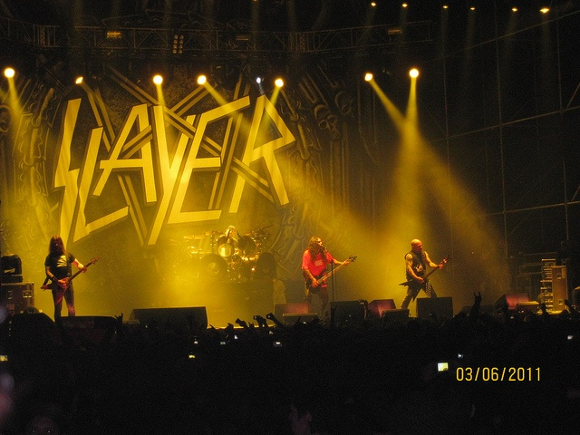 Slayer en Viña del Mar. 3 de junio 2011.