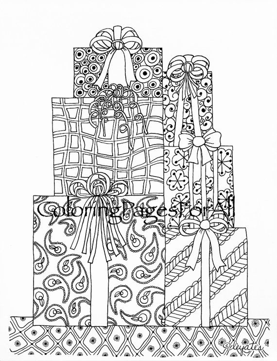 169 best Coloring pages to print Christmas time images