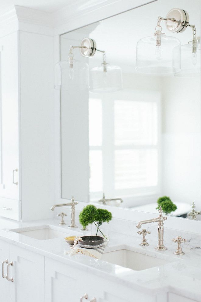 Bathroom Mirrors For Double Sinks 25+ best double sink bathroom ideas on pinterest | double sink