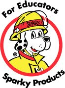 Sparky's Fire Safety games & printables