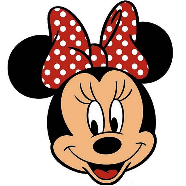 Resultado de imagen para minnie mouse cara