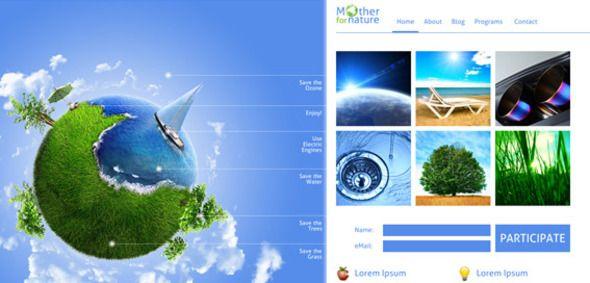 For Mother Nature - Premium Eco Unique Template