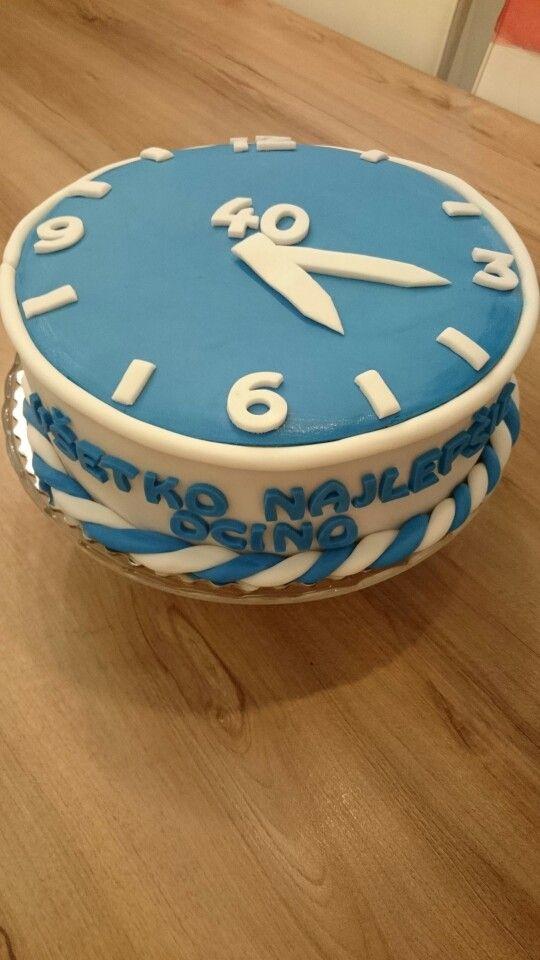 """40""  - happy birthday"