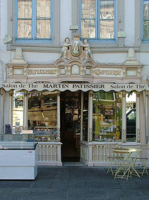 Patisserie  Morlaix, France