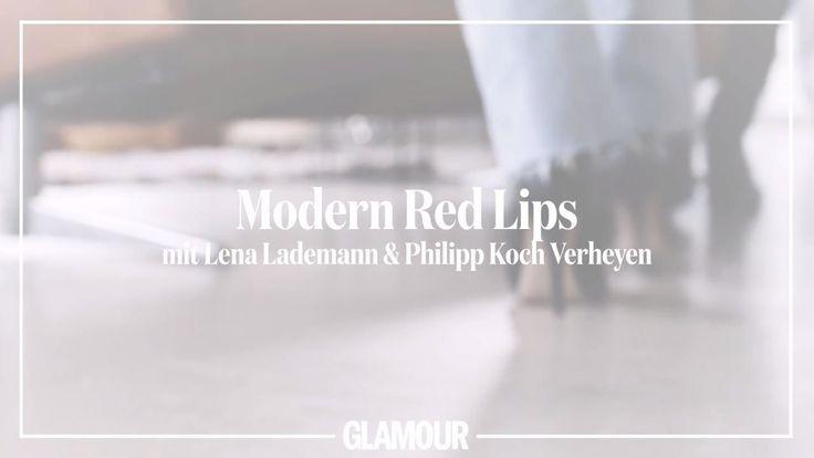 Bei Bloggerin Lena Lademann hat sich viel verändert, denn nach ihrem Abschied von Blogger Bazaar ist sie nun mit ihrer eigenen Kreativseite durchgestartet. Fashion, Kunst, Reisen – sie teilt alles, was sie persönlich interessiert und inspiriert. Und ist dabei wie immer klassisch-cool und fokussiert. Sie beherrscht diesen Mix aus Zurückhaltung und dosierten Wow-Effekten, gerade auch beim Make-up, wo sie eigentlich eine echte Minimalistin ist. Augen, Wangen, alles dezent – aber dazu dann rote…
