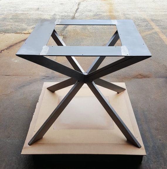 """Moderna Base de mesa """"X"""" para Plaza o mesa redonda"""