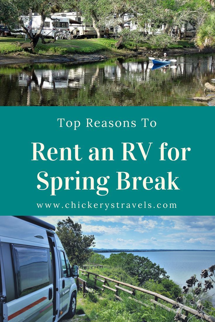 Learn the top reasons to rent an RV for your spring break vacation. Traveling by RV is a great way to save money while enjoying time as a family. Parents and kids alike love family camping. Whether you rent a motorhome, fifth wheel, travel trailer, or pop up camper for your Spring Break road trip, everyone in the family will be a happy camper.