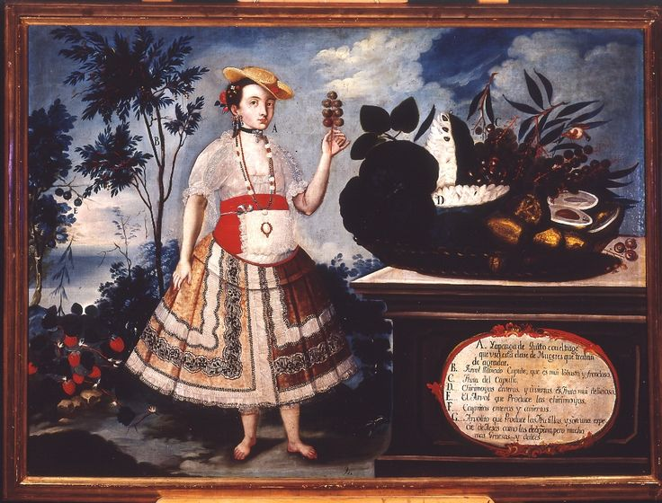 Yapanga de Quito (1783), de Vicente Albán (Ecuador)