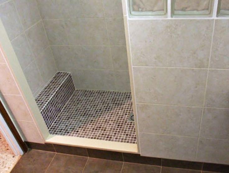 Ba os con ducha de obra en microcemento buscar con for Decoracion banos pequenos con ducha