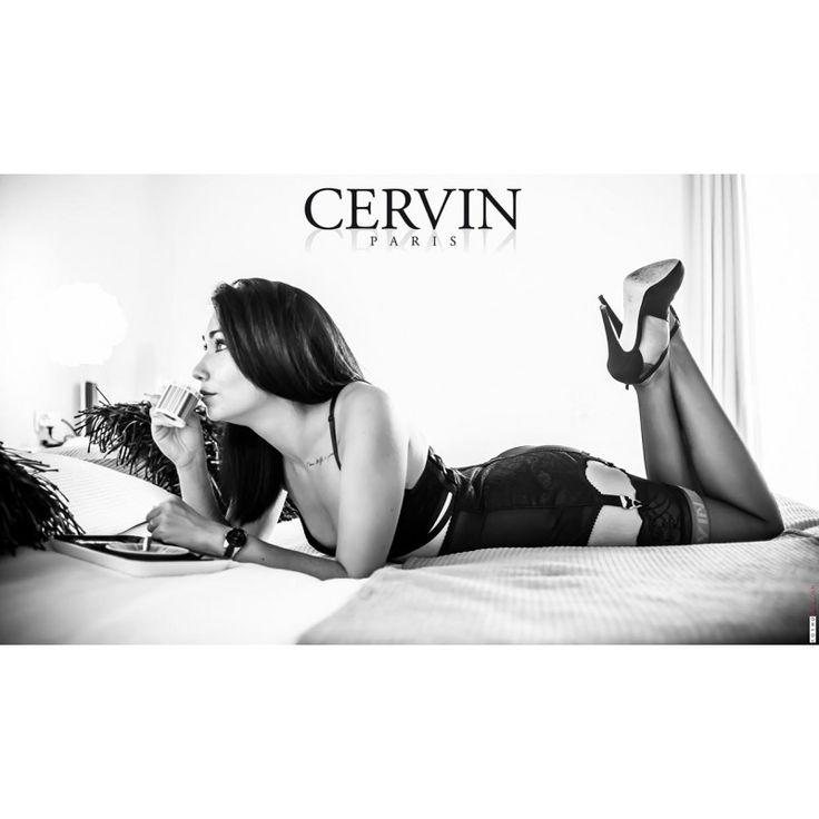 bas nylon Divine, des bas nylon pour porte-jarretelle Cervin Paris