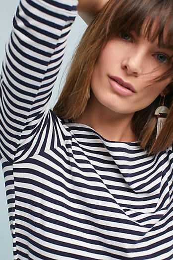 Anchored In Stripes Top