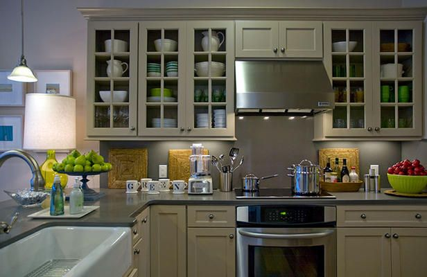 Green homes, Cottage kitchens and Cottages on Pinterest
