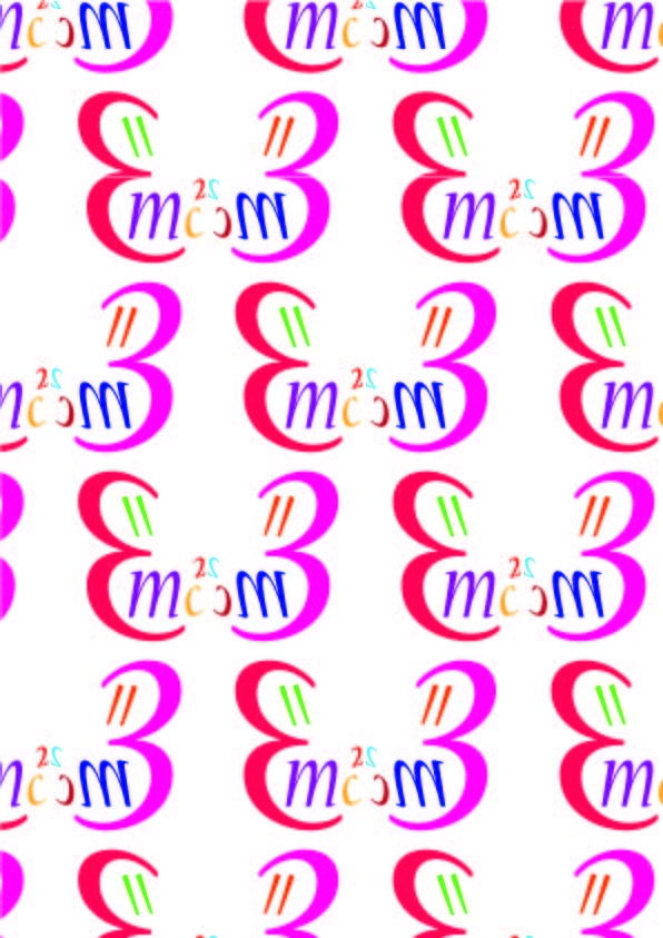 Nueva- Carol twombly, 1994  Pattern 3- CALLIGRAFICO Ho utilizzato colori vivaci poichè il modulo ricorda la forma di una farfalla.
