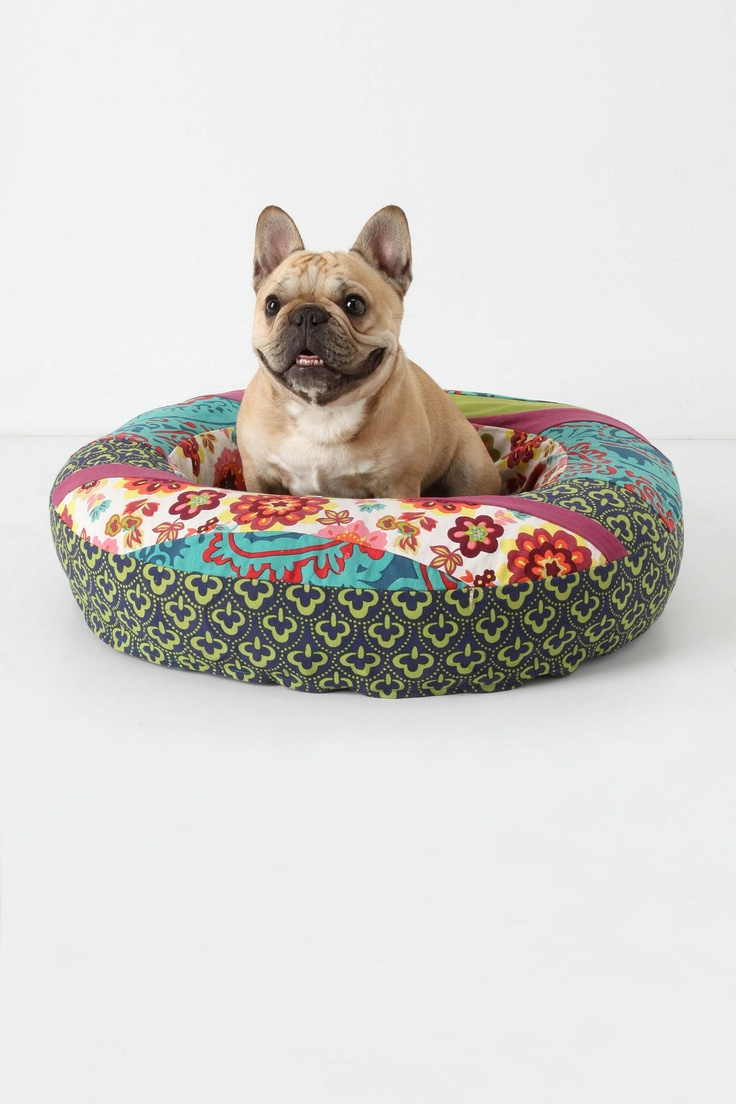 dog bed from anthro