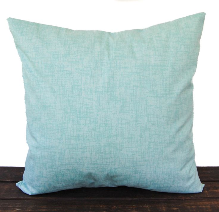 Seafoam Blue Decorative Pillows : Throw pillow cover Canal blue sea foam white cushion cover traditional contemporary modern home ...