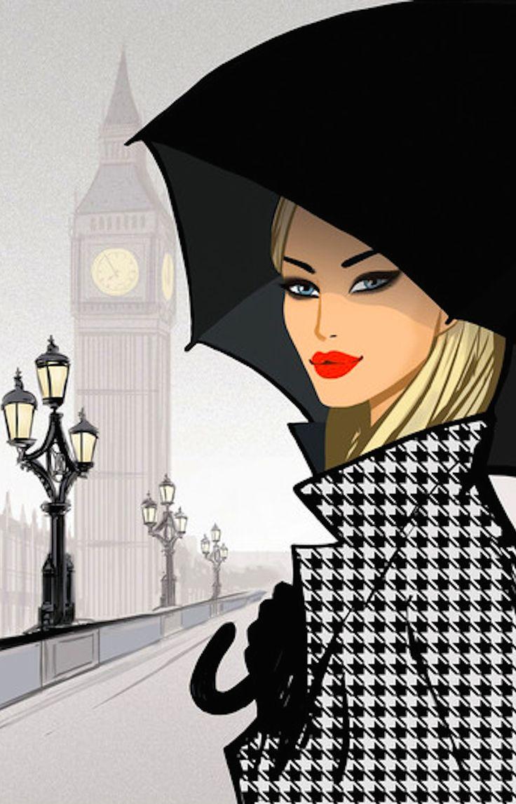 Jason Brooks, peintre et illustrateur de mode londonien                                                                                                                                                     Plus