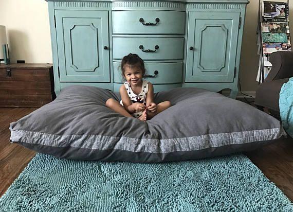XXL dog bed floor pillow