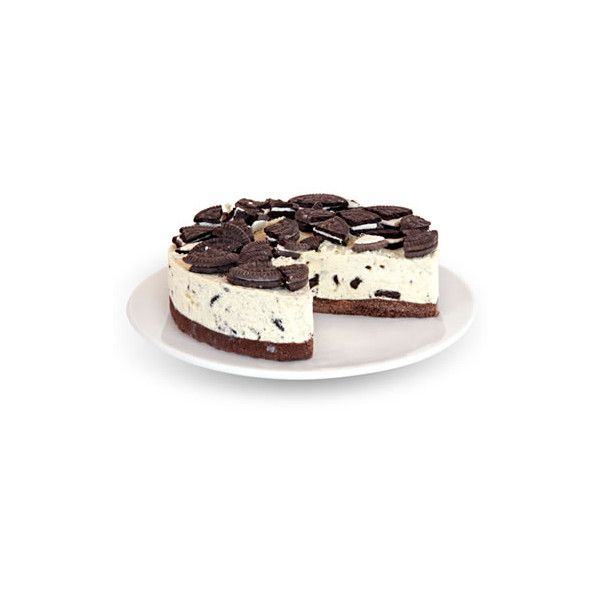 The English Cheesecake Company - Cookies and Cream Cheesecake found on Polyvore
