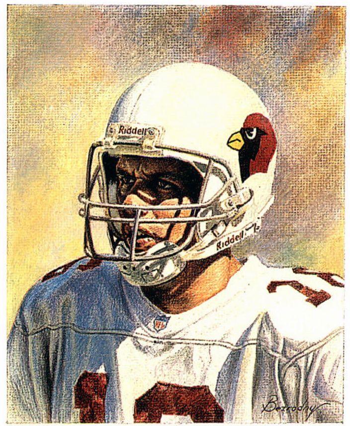 Jake Plummer, Cardinals by Boris Bezrodny.