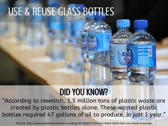 We need to all recycle