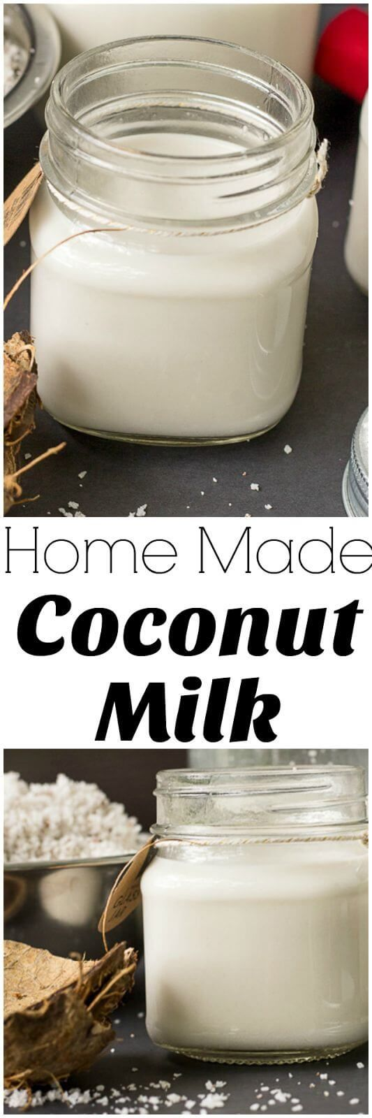 An easy step by step guide for making coconut milk from a fresh dry coconut just like we do it in the Caribbean.