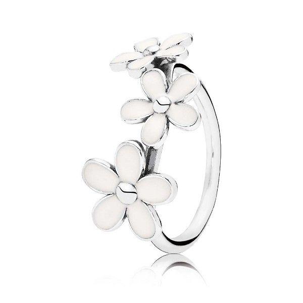 anillo pandora margaritas 190900en12 - 49,50€ http://www.andorraqshop.es/joyeria/pandora-margaritas-190900en12-749.html