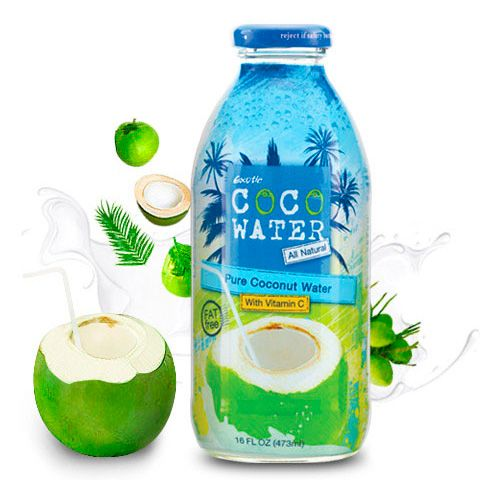 Натуральная кокосовая вода CocoWater 250 мл (Таиланд)