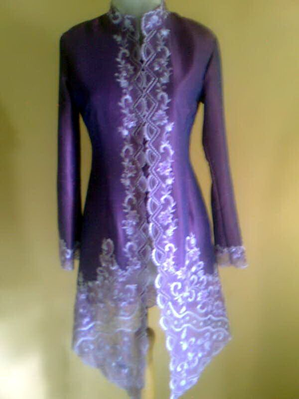 Kebaya Rawsilk Purple