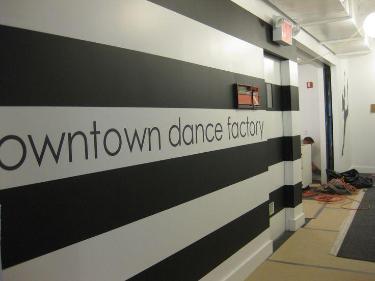 Alfa img - Showing > Dance Studio Wall