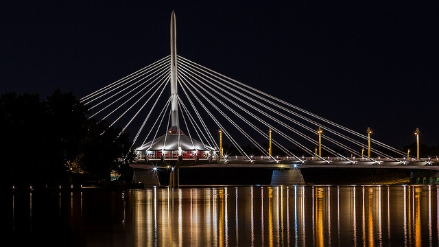 Provencher Bridge, Winnipeg, MB