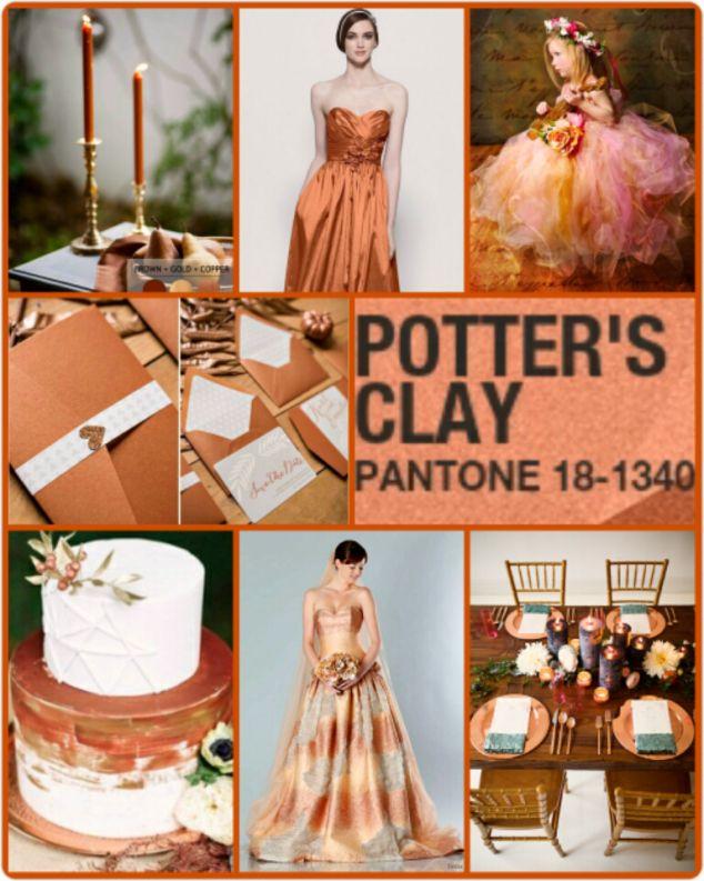 Pantone Potter's Clay
