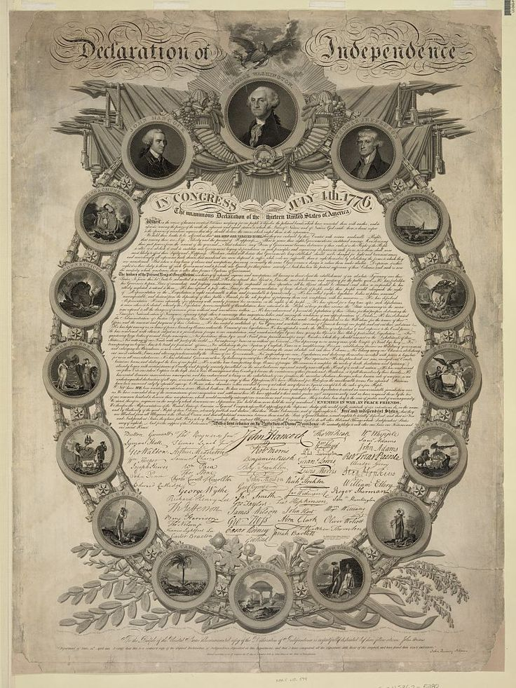 How old were famous Revolutionary War figures on July 4, 1776?