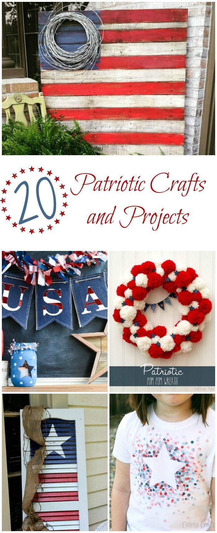 96 best Memorial day, 4th of July, and Patriotic Home decor images ...