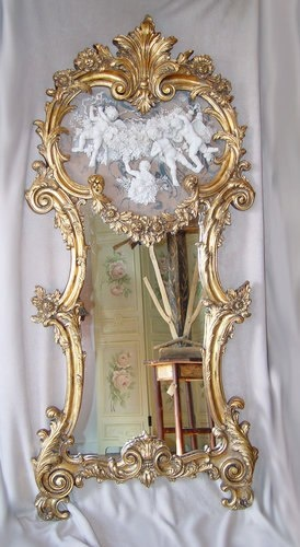 Cherub Mirror.