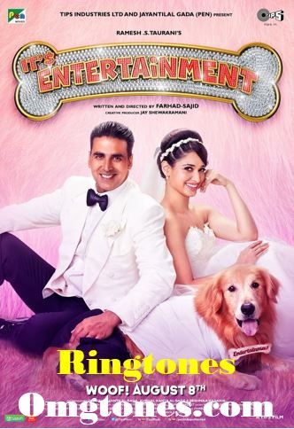 It's Entertainment on Box Office Today. Get your Ringtone Including Johnny Johnny - Its Entertainment Tera Naam Doon - It's Entertainment and more Interesting Movie Ringtones.
