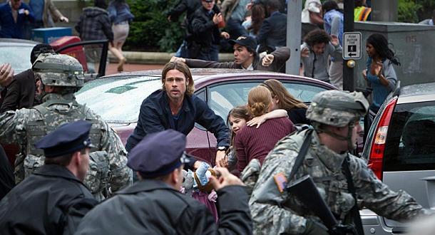 World War Z: Brad Pitt ou les zombies, c'est qui le plus fort?