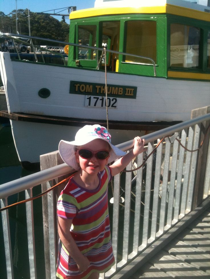 Catch the cute wooden ferry from Tonkin St wharf at Cronulla to Bundeena - the ride is pretty and the destination stunning. An easy day trip. The wharf is less than 5 min walk from Cronulla station.