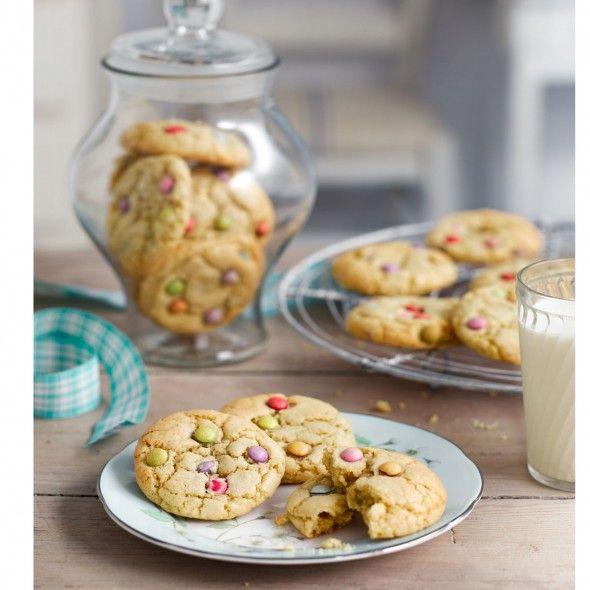 Smartie cookie recipe golden syrup