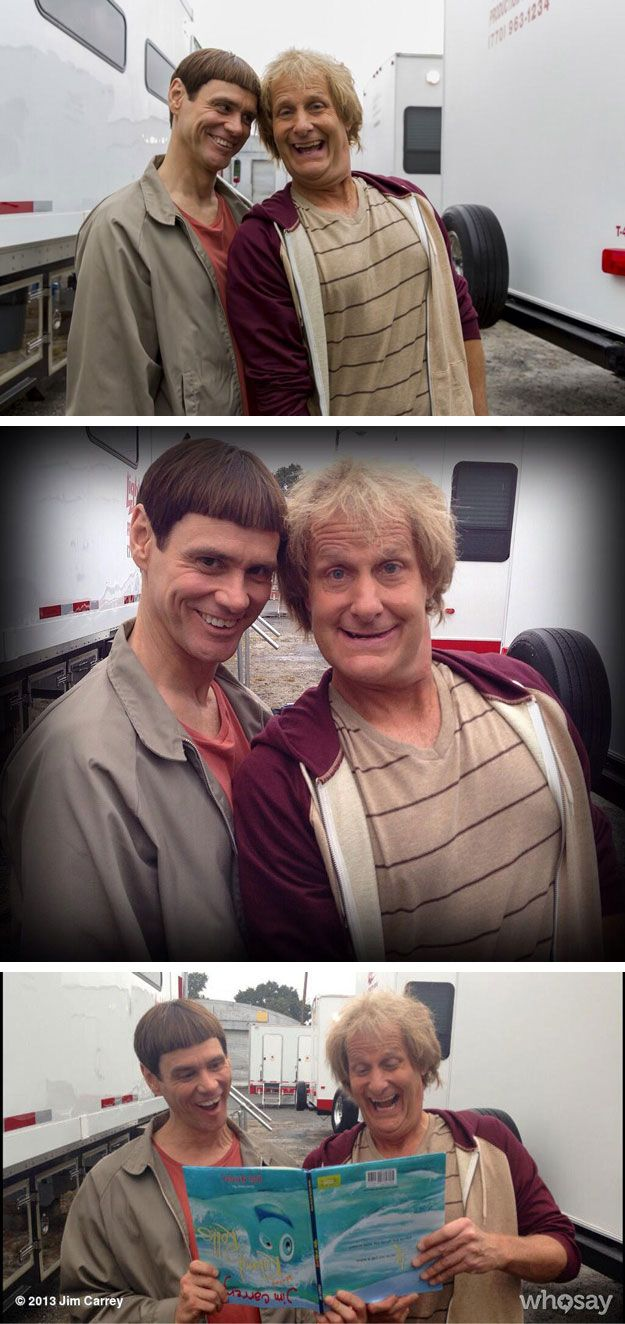 New Dumb and Dumber movie starts shooting :)