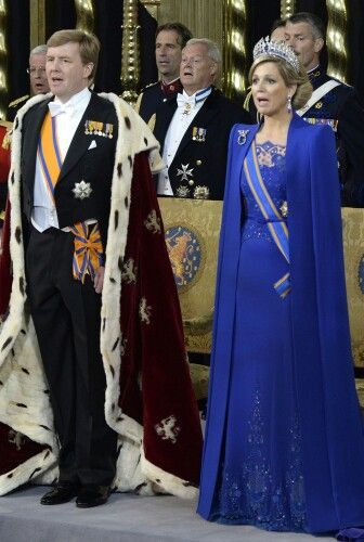 Their Majestys, The New King And Queen Of The Netherlands. April 30, 2013.