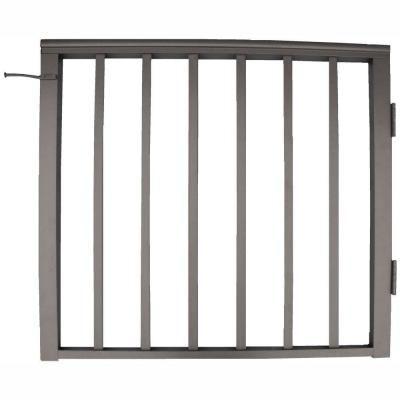Best Ez Handrail 36 In X 42 In Bronze Pre Built Aluminum 640 x 480