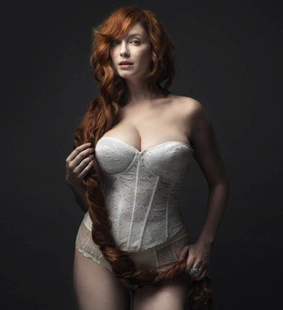 Christina Hendricks-she is beautiful. great role model for curvy women.