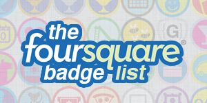 Find all of the 4sq badges